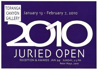 Topanga Canyon Gallery Announcement